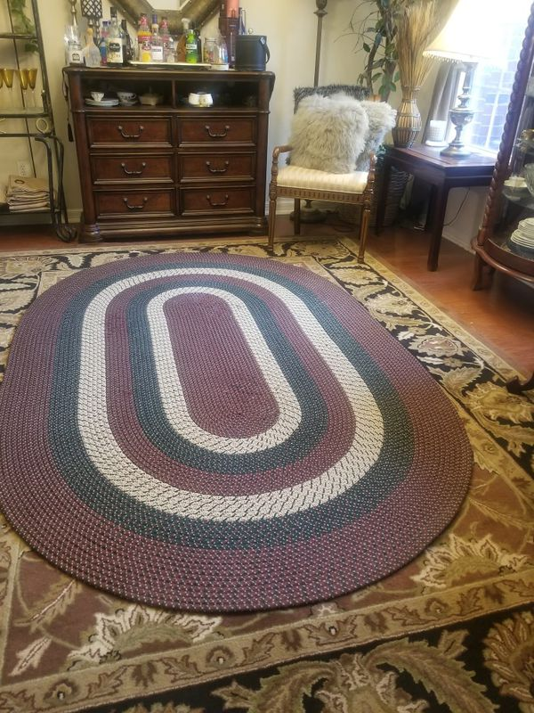 Oval Braided Rug Approx 8x5 For Sale In Manor Tx Offerup