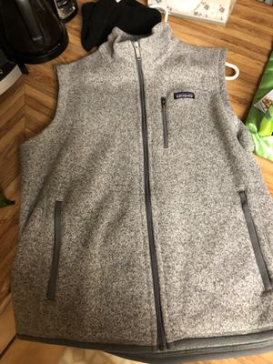 Photo Patagonia Gray better sweater vest L