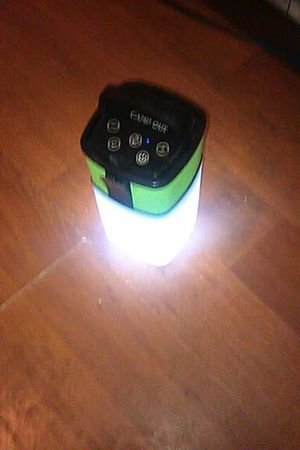 Camp Out Lantern/Bluetooth speaker for Sale in Dayhoit, KY