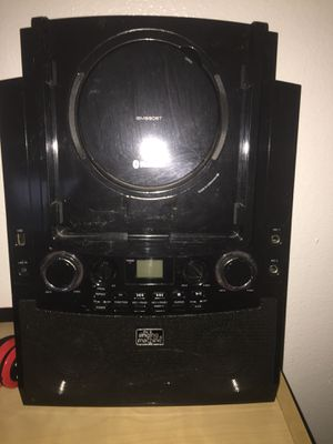 karaoke machine with bluetooth speaker and microphone for Sale in Los Angeles, CA