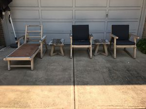 Vintage Retro Outdoor Wooden Seating Furniture for Sale in Burke, VA