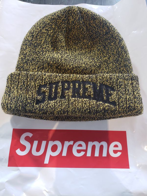 Supreme New Era Yellow Arc Logo Beanie for Sale in Seattle c22d5538dc50