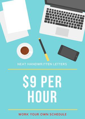 MAKE $9 PER HOUR HANDWRITING LETTERS for Sale in Alexandria, VA