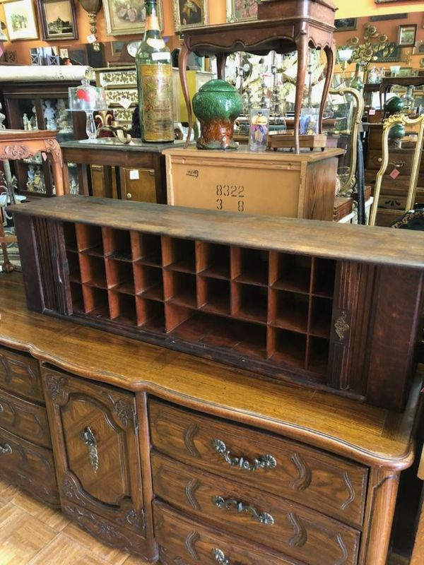 Antique Turn Of The Century Mail Sorting Cabinet 59x13x17 300 Furniture In La Mesa Ca Offerup
