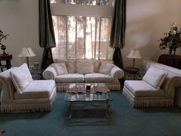 Elegant Living Room Sofa Chair 3 Pcs