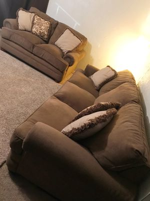 Couch and Loveseat Set - Can Deliver for Sale in Arlington, TX