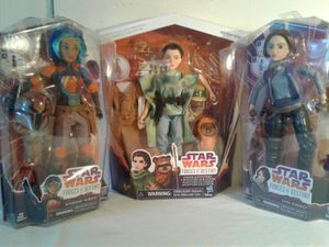 STAR WARS FEMALE ACTION FIGURES. for Sale in Hayward, CA