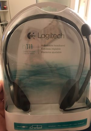 Logitech h111 Stereo Headset for Sale in Washington, DC
