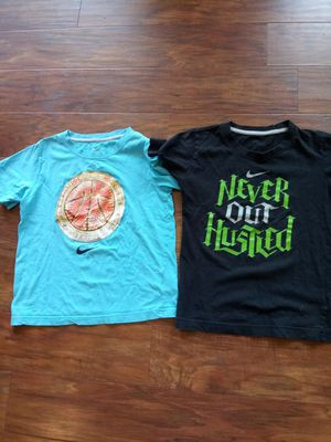 2 boys Nike Shirts sz 7. for Sale in Madison Heights, VA