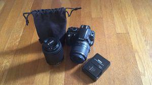 Nikon DSLR D3100 Camera + lenses for Sale in Lynchburg, VA