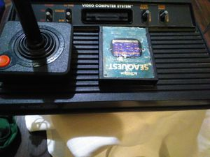 Atari 2600 4 switch one game one controller for Sale in NC, US