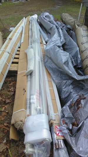 12 foot wide SunSetter awning sand color for Sale in Crewe, VA
