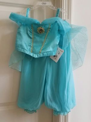 New with tags size 2 Disney Princess Jasmine pretend play dress halloween costume - $20 price firm for Sale in Rockville, MD