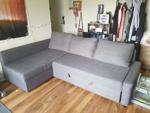 Couch bed with storage for Sale in Lorton, VA