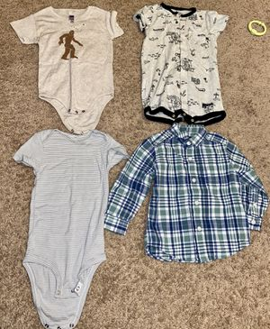 Photo 18 and 24 mos baby boy clothes