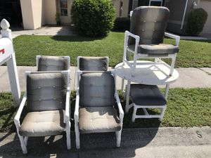 Outdoor Furniture 7 Pieces For In Sarasota Fl