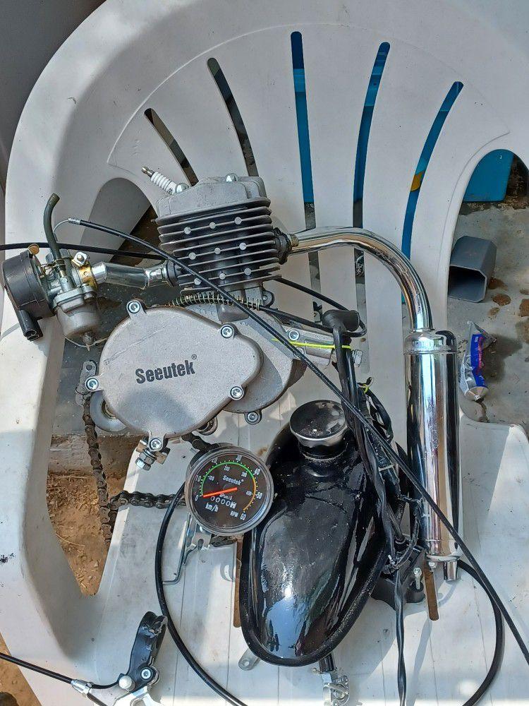 Gas Bike Motor