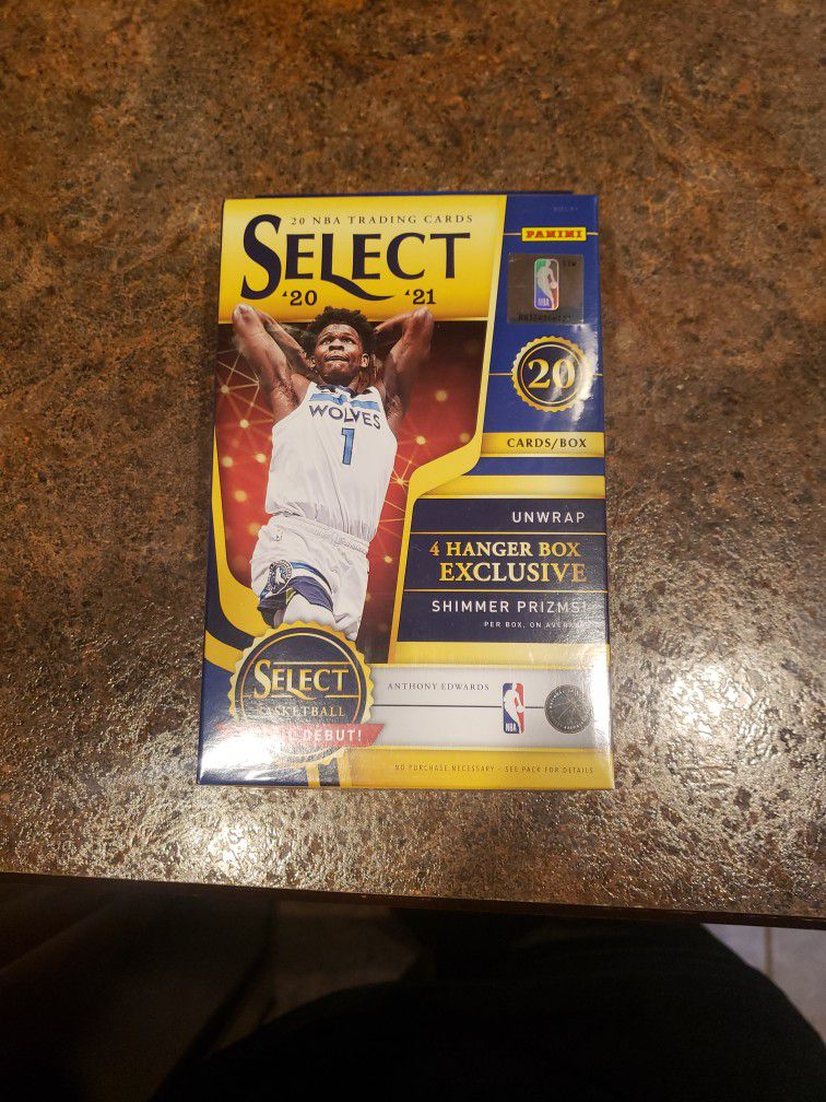 Panini Select Nba Hanger box Exclusive $60 Or Best Offer