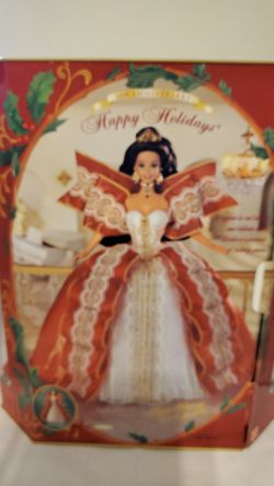 Happy Holidays Barbie Thumbnail