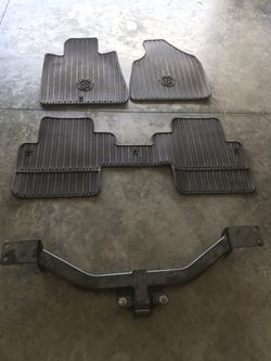 2016 Buick Enclave weather tech floor mats and Tow hitch $ 200.00 Thumbnail