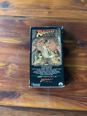Raiders of the Lost Ark VHS 1981 Version for Sale in Vancouver, WA