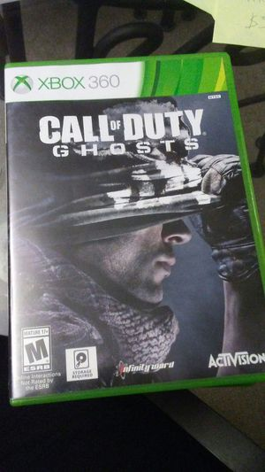 Xbox 360 call of duty ghosts for Sale in Pittsburgh, PA