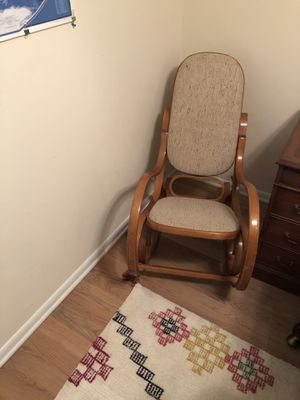 Antique bentwood rocking chair for Sale in Alexandria, VA