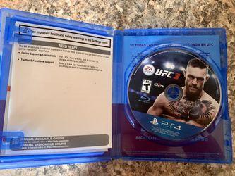 PS4: UFC-3 Thumbnail