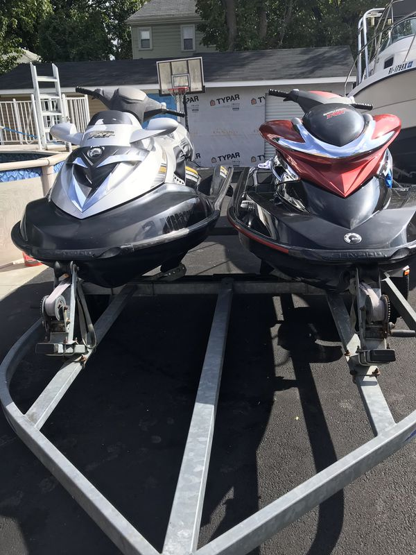Two jet ski s for sale 2006 and 2008 3 seats supersharga