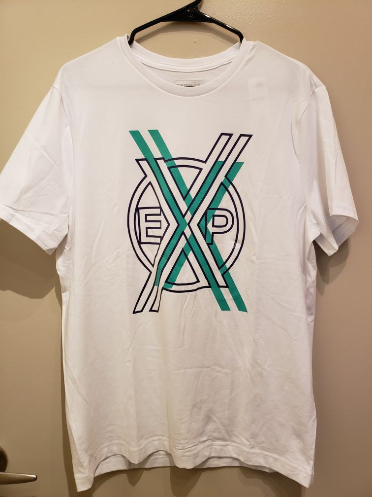 """Brand new men""""s EXPRESS shirt size large price is firm"""