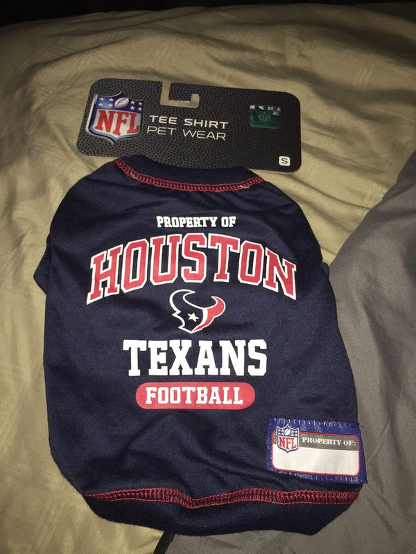 top fashion ce74b b1d01 Small Houston Texans Dog Shirt for Sale in Webster, TX - OfferUp