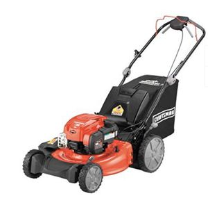 Photo Craftsman M310 163cc Briggs & Stratton 725 exi 21-Inch 3-in-1 RWD Self-Propelled Gas Powered Lawn Mower with Bagger