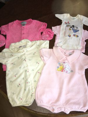 Infant Girls Size 3 Month Clothes Lot/5 pieces for Sale in Hampstead, MD