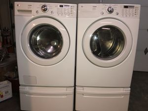 LG Tromm washer & dryer set for Sale in Bothell, WA