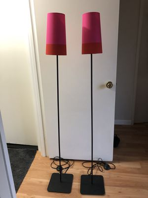 Floor Lamps - set of 2 for Sale in Gaithersburg, MD