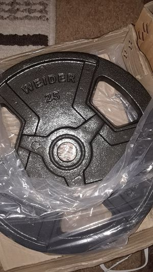 Weider weights 25 pounds for Sale in Elk Grove, CA