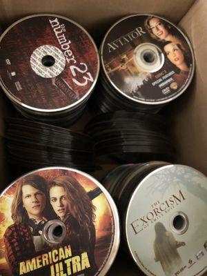 Box of 500+ dvds for Sale in Nokesville, VA