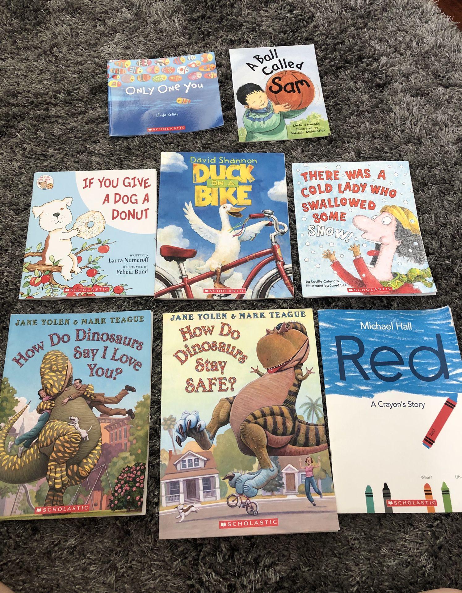Soft cover books (grades k-2) - great condition