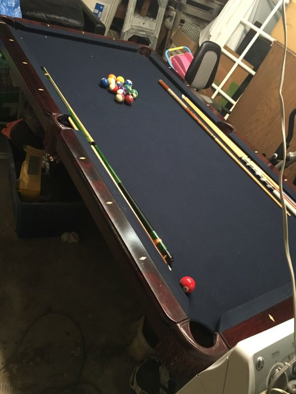 Admirable Amf Playermaster Pool Table For Sale In Houston Tx Offerup Download Free Architecture Designs Itiscsunscenecom