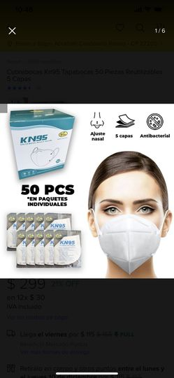 Face mask 50 for 5 dlls Thumbnail