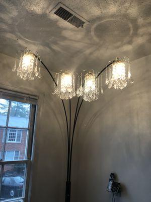 Crystal Floor lamp for Sale in Charlottesville, VA