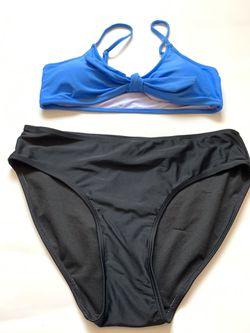 New Women's Bathing Set Size Medium Top Large Bottoms Thumbnail