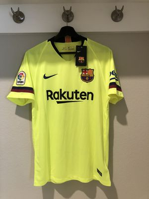 Messi Barcelona Away soccer jersey official 18-19 for Sale in Plano e6c7f73aa