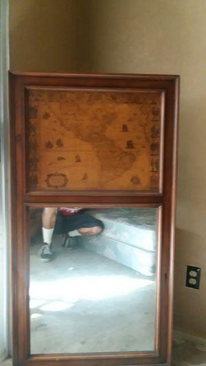 Wooden Antique wall mirror for Sale in La Quinta, CA