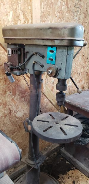 Photo Delta Rockwell floor model variable speed drill press