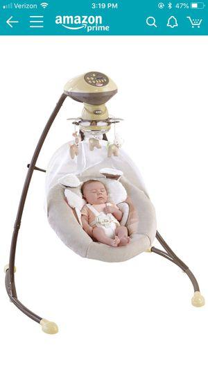 Fisher-Price My Little Snugapuppy Cradle 'n Swing for Sale in Los Angeles, CA