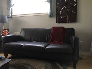 Leather Couch - Sofa for Sale in Seattle, WA