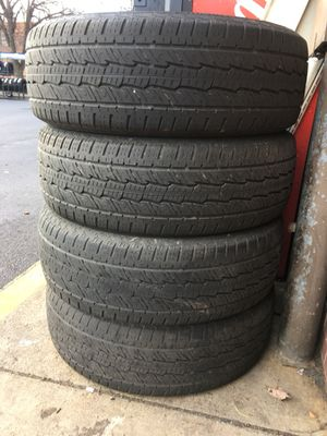 Vary Nice Used Tire 4 Pair 255/70/R17 all is $180 for Sale in Leesburg, VA