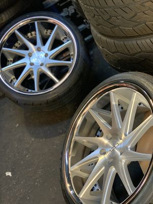 Photo Camaro ss 20 inch concave wheels rims