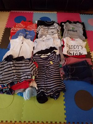 boy clothes size 3, 6,12 months and 2t t-shirts for Sale in Washington, DC